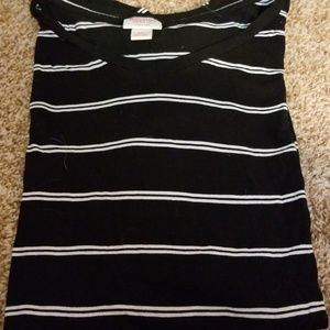 Tops - Plus size striped tee shirt